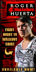 Roger Huerta UFC Fight Night 19 Walk-out Shirt