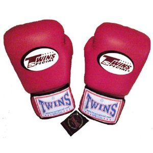 Twins Boxing Gloves - Shocking Pink