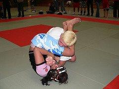 Women Grappling Training
