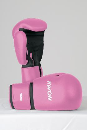Kwon Pink Boxing Gloves