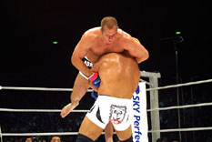 Fedor in the air